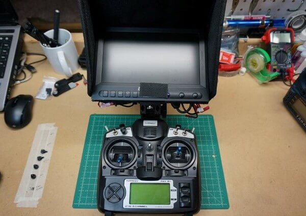 Deluxe FlySky FS-TH9X LCD Monitor Display Mount – 08