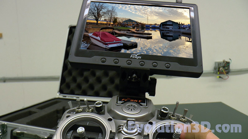 Deluxe FrSky Taranis X9D X9D LCD Monitor Mount – 01