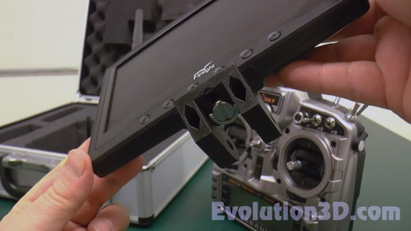 Deluxe FrSky Taranis X9D X9D LCD Monitor Mount – 05