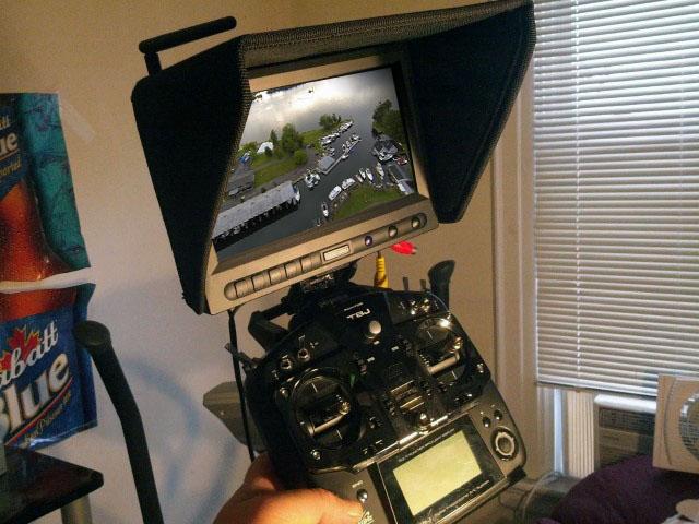 futaba-t10j-t8j-LCD Monitor Display Mount -01
